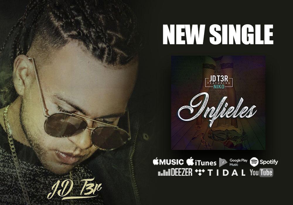 """El salvador exhibe su vena musical con JD T3r y su nuevo sencillo """"infieles"""""""