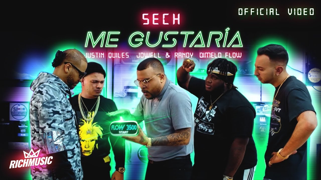 Photo of Me Gustaria (Video Oficial) – Sech, Justin Quiles, Jowell & Randy, Dimelo Flow
