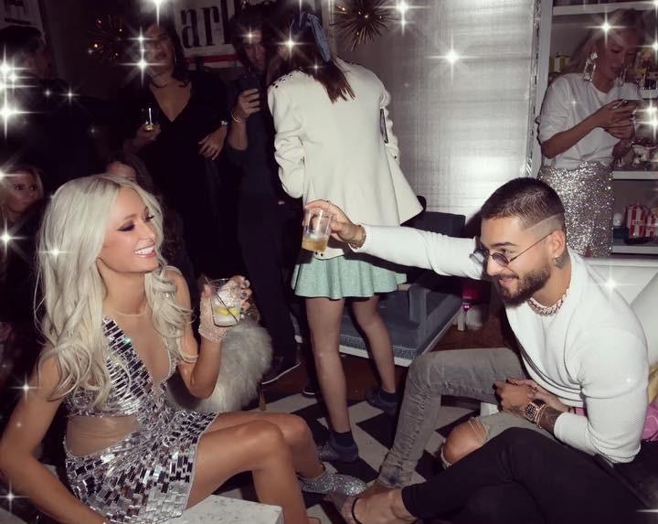 Photo of Maluma fue invitado a la fiesta de cumpleaños de Paris Hilton