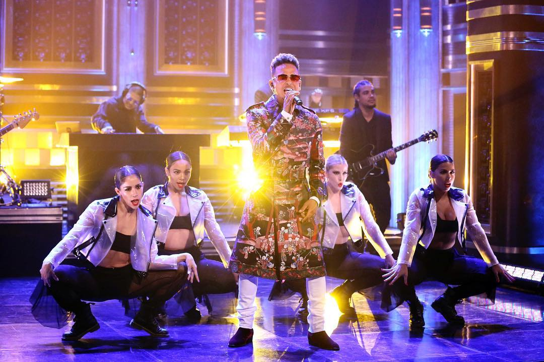 "Photo of Ozuna cantó ""Taki Taki"" en The Tonight Show de Jimmy Fallon"