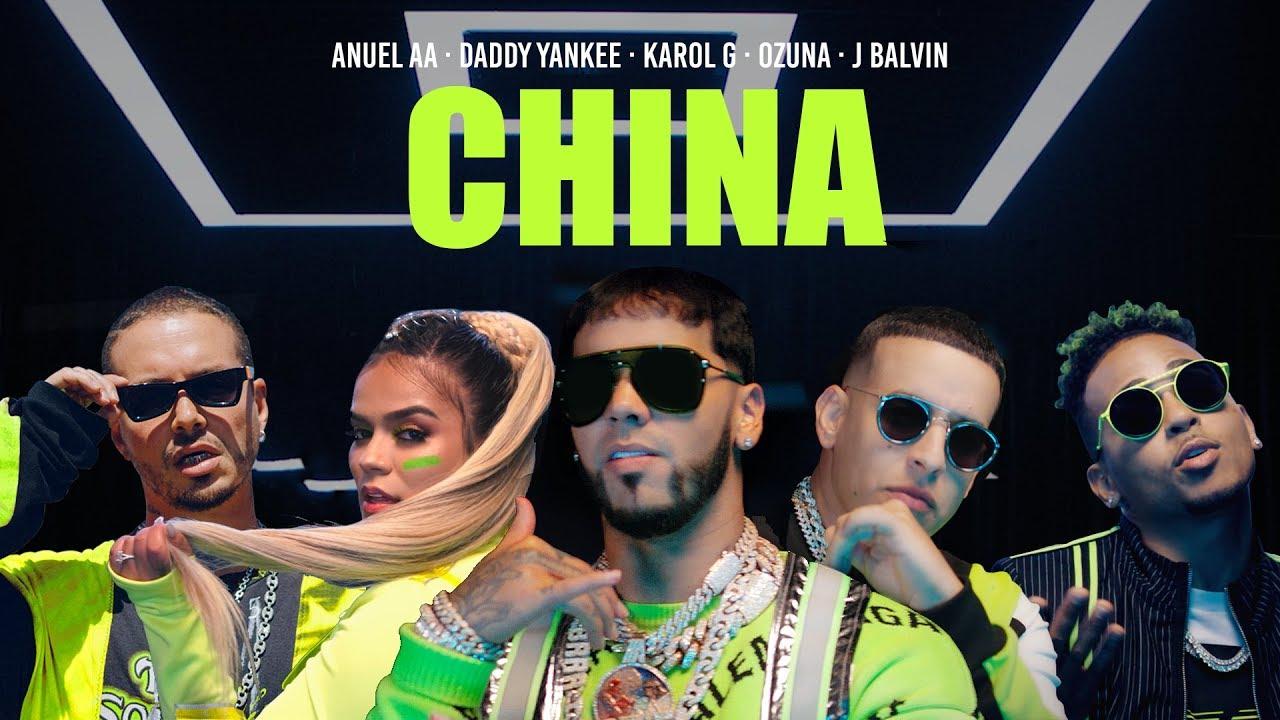 Photo of Anuel AA, Daddy Yankee, Karol G, Ozuna & J Balvin – China (Video Oficial)
