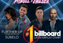 """Photo of Static y Ben El, Pitbull y Chesca alcanzan el #1 con """"Subelo (Further Up)"""""""