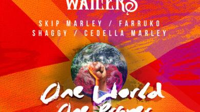 Photo of Farruko, The Wailers, Skip Marley, Shaggy, Cedella Marley – One World  One Prayer