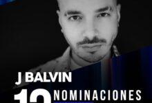 Photo of J Balvin hace historia al convertirse en el artistas con mas nominaciones en los Latin Grammy